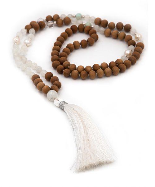 108 bead mala moonstone magical