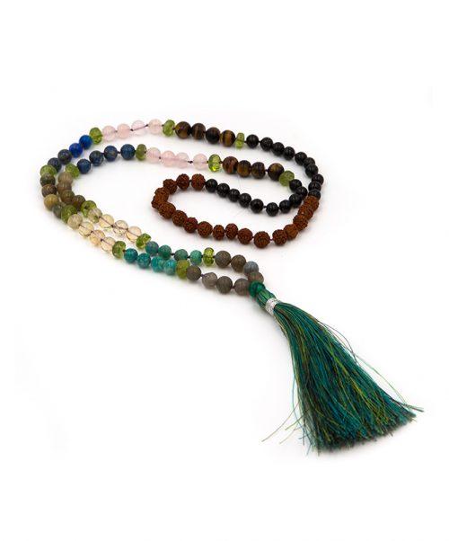 Green Heart Chakra 108 Bead Mala